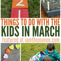 Check out this fun list of things to do in March with kids!