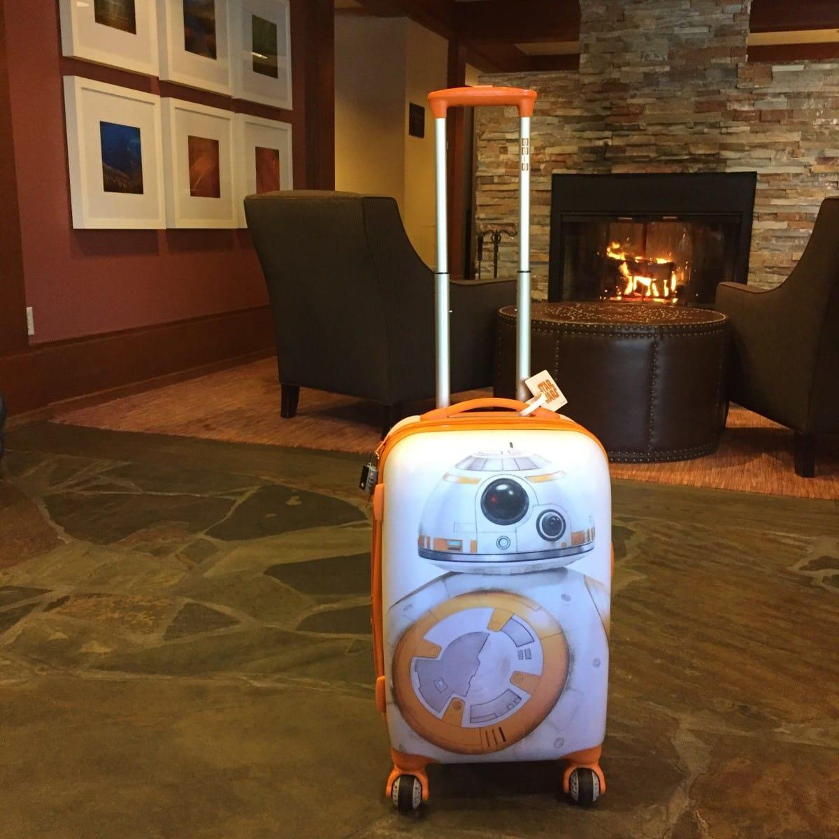 BB8 visits the Salish Lodge and Spa