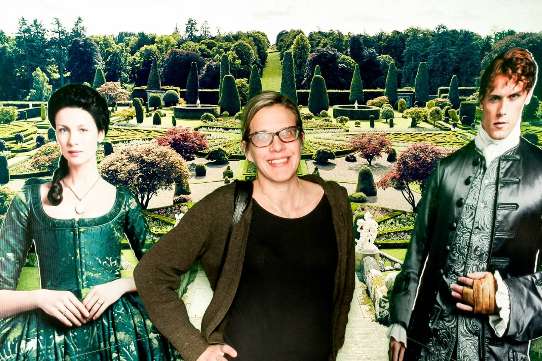 Outlander Green Screen Photo Opp!