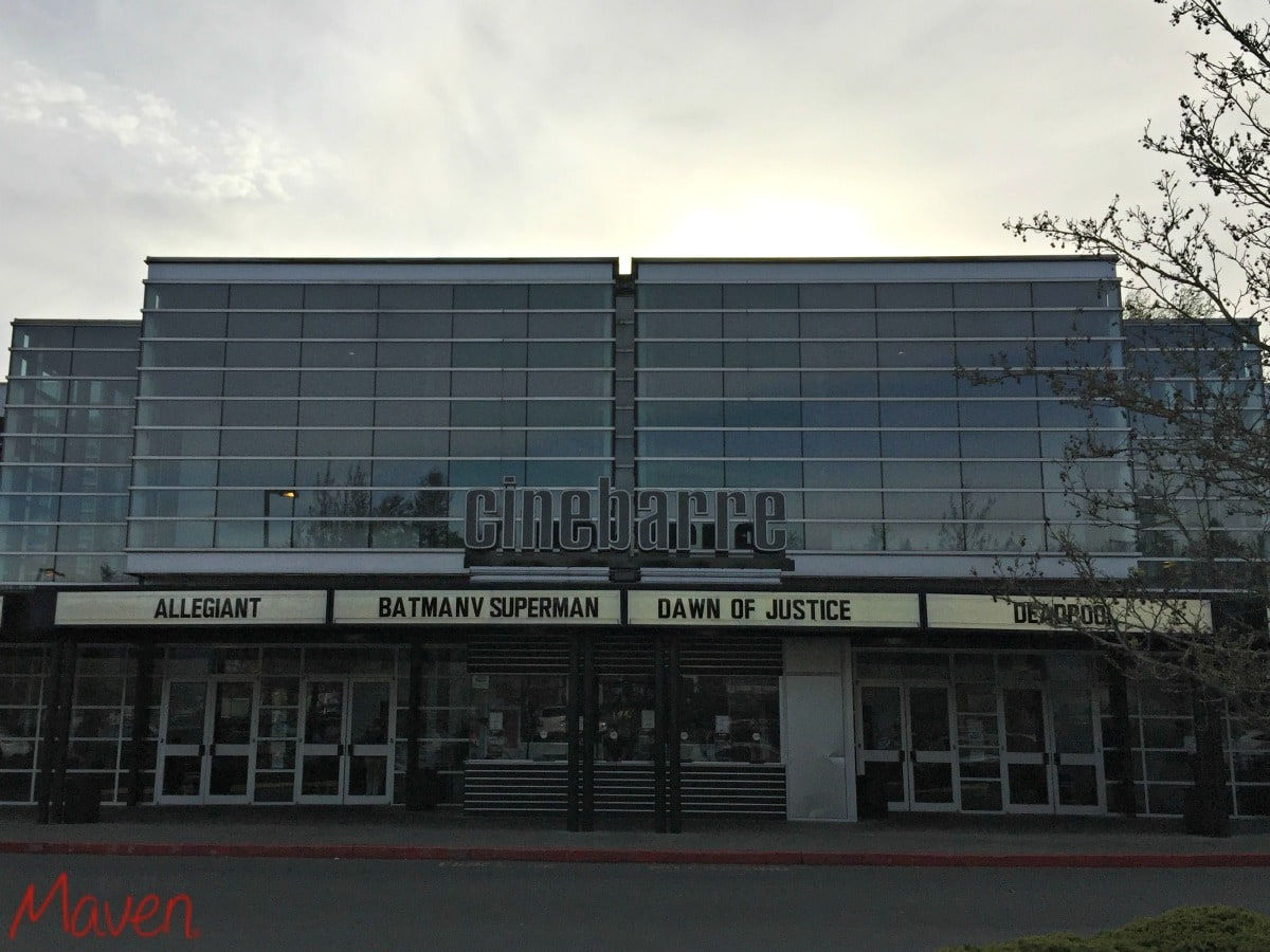 Cinebarre Theater, Montlake Terrace, WA
