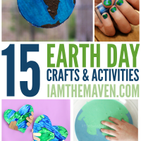 You'll love this list of Earth Day ideas! A collection of crafts and activities for kids!