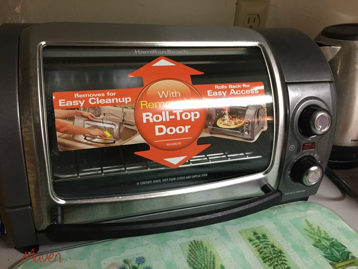 Find the 4 Slice Easy Reach™ Toaster Oven with Roll-Top Door at Target #easyreach