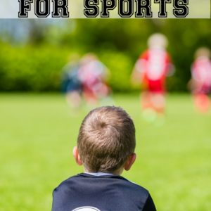 Signing Kids Up For Sports