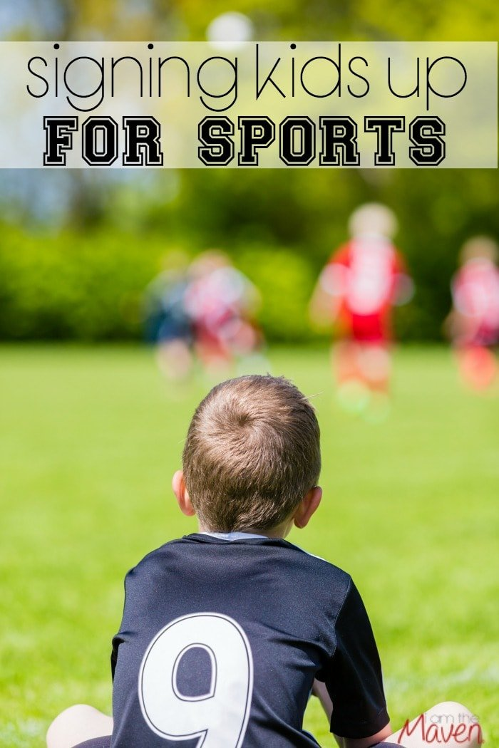 When you are signing kids up for sports, it's important to consider all of these tips!