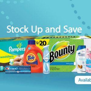 April Stock Up & Save Event at Walmart
