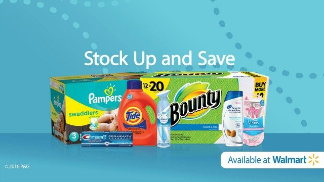 Stock up and Save at Walmart