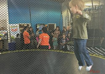 Day of Play with SpringFree Trampoline and tgoma!