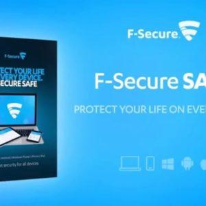 Try F-Secure SAFE for Free!  #FSecureSAFE