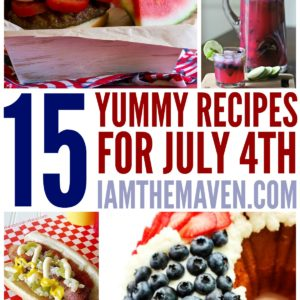 Planning a cookout? You'll love these recipes for July 4th!