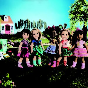 WellieWishers World Doll Set-HR
