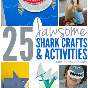 You're kids will love these shark crafts and activities.