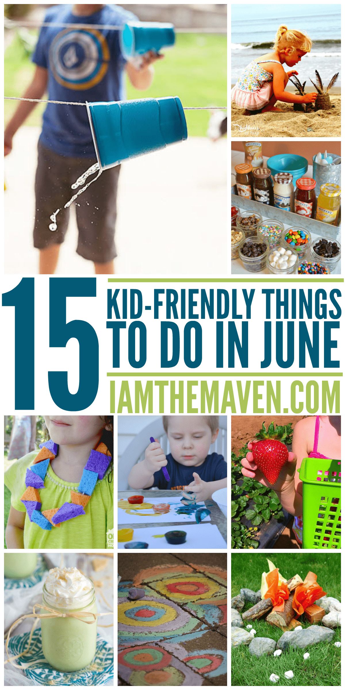 Here are 15 fun kid friendly things to do in June