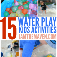 Summer heat got you down? How about some water play?