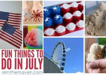 Don't miss these fun things to do in July!
