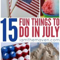 15 fun things to do in July