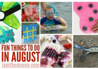 Things to do in August
