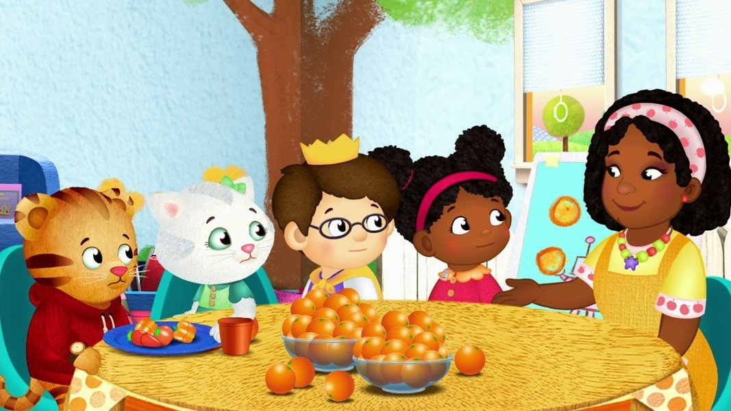 Daniel Tiger has food allergies!