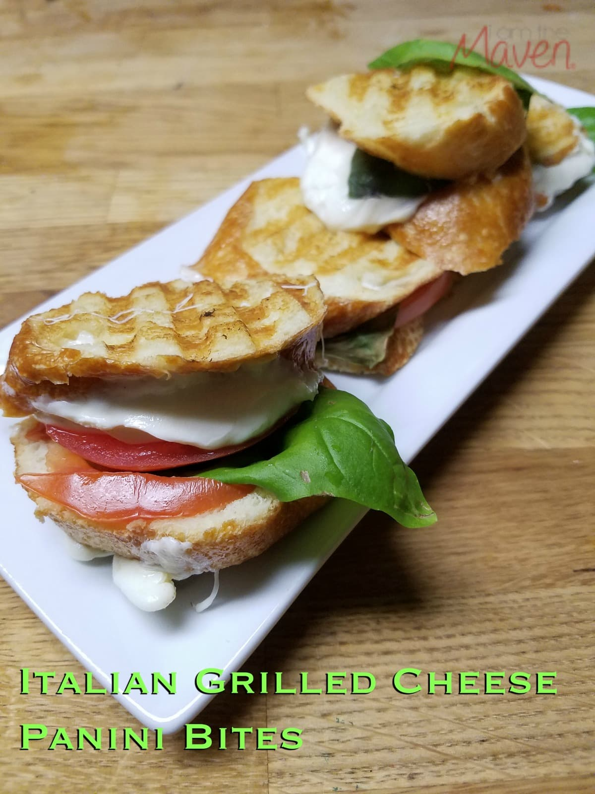 You'll love these Italian Grilled Cheese Panini Bites! #MakeMoreofMealtime ad