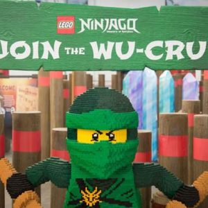 Coming to Seattle: LEGO NINJAGO Obstacle-Course Competition THIS WEEKEND