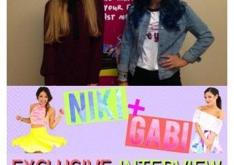 Exclusive Niki & Gabi Interview: Girls Night In Tour
