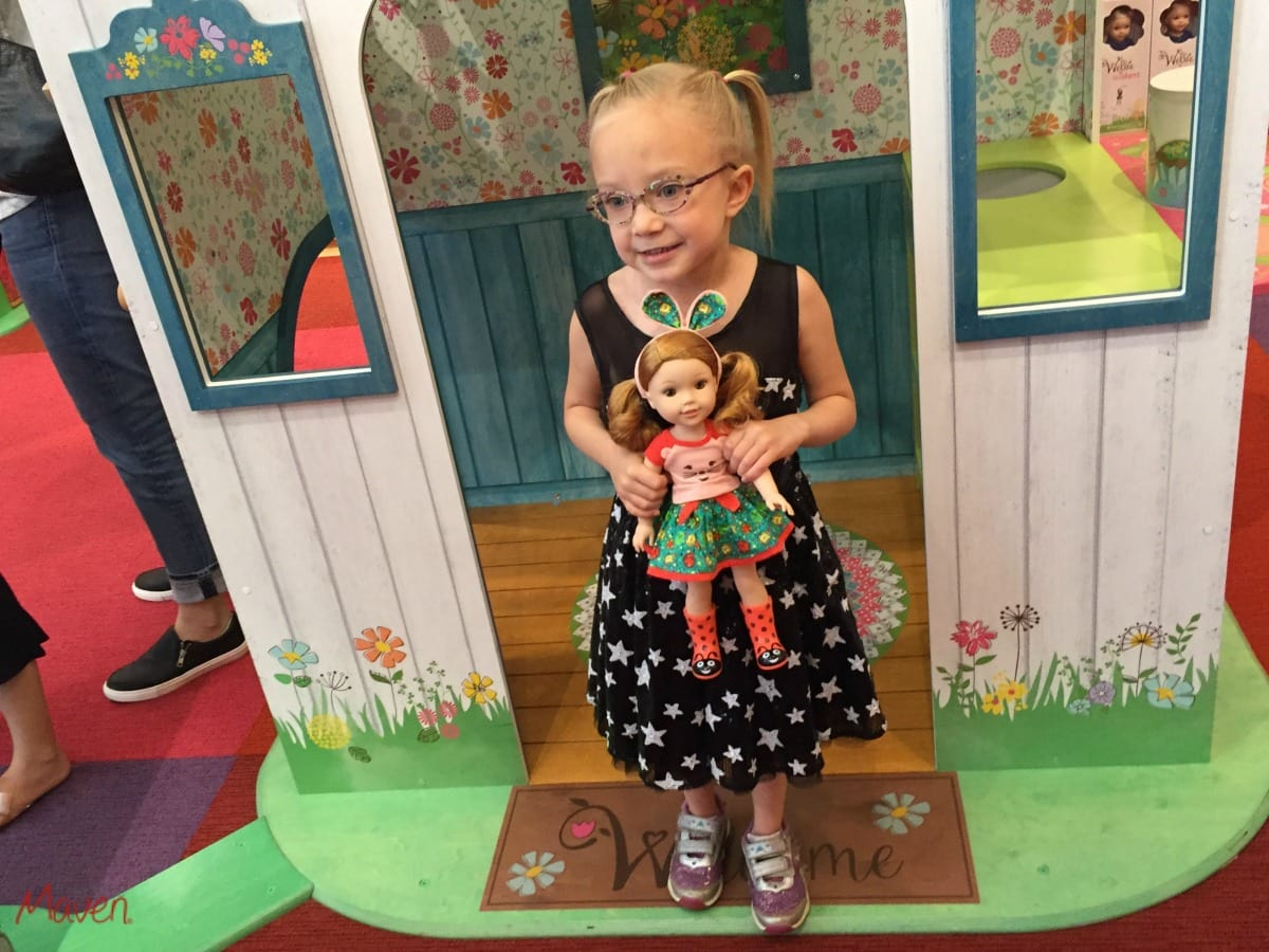 We love the WellieWishers playhouse!