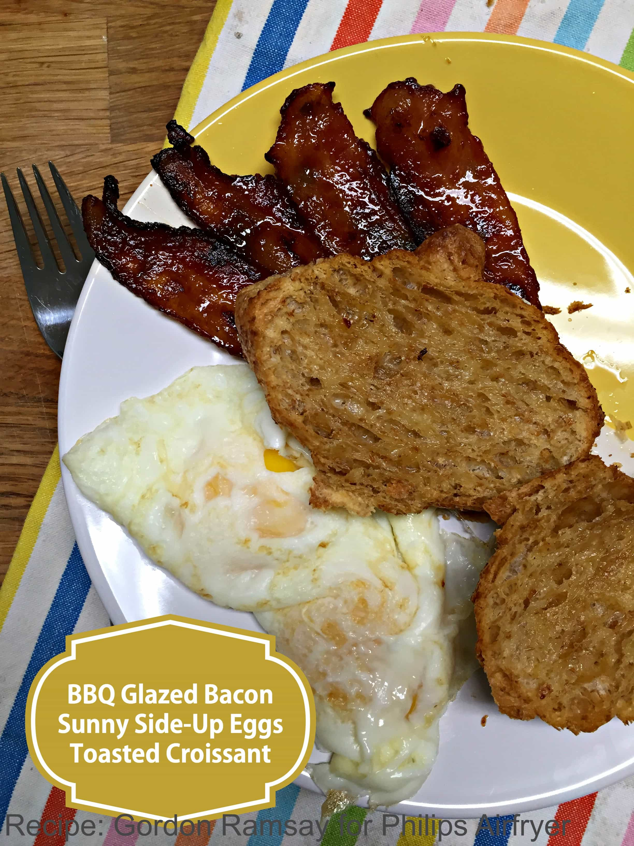 BBQ Bacon in an airfryer? Why not?!?