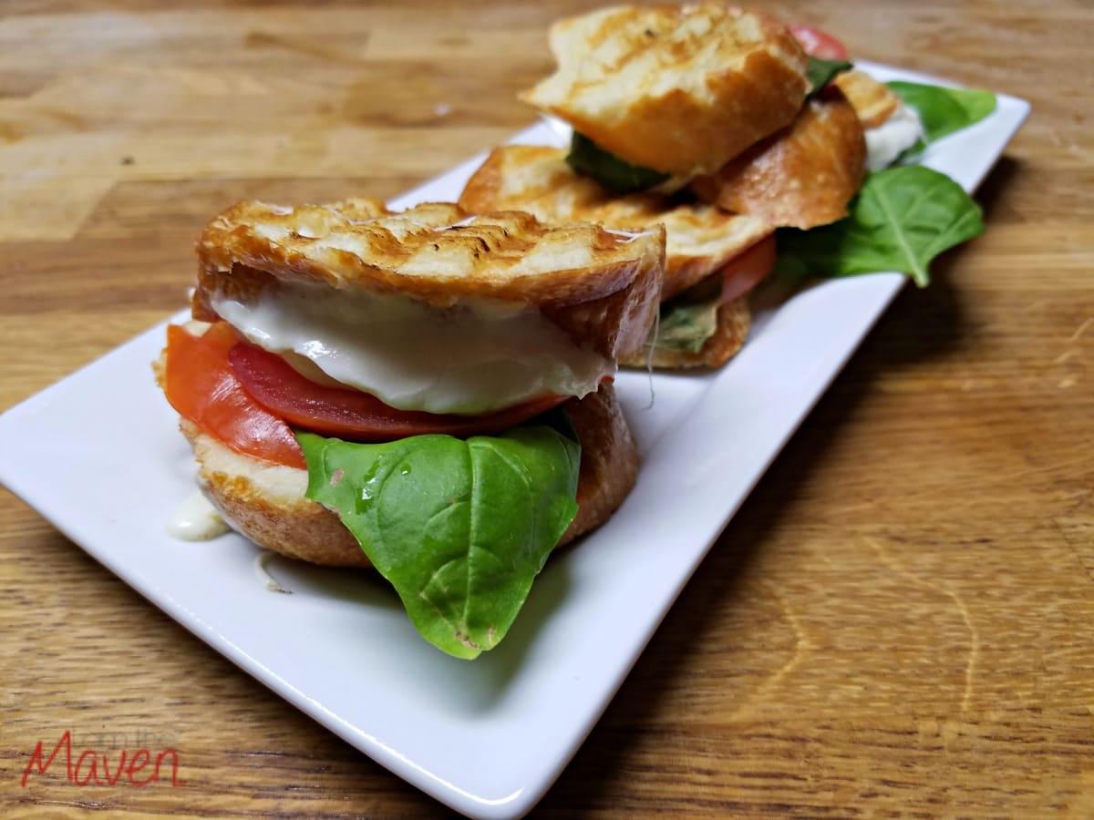 Yummy caprese panini! #MakeMoreofMealtime