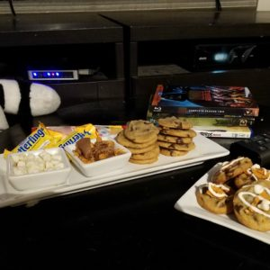 The perfect after school snack, a cookie bar plus movies! #NestleSchoolDays AD