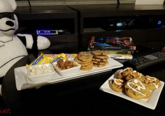 Easy Back To School Treats: Pizza and a Cookie Bar