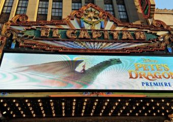 Pete's Dragon Red Carpet Premiere Experience