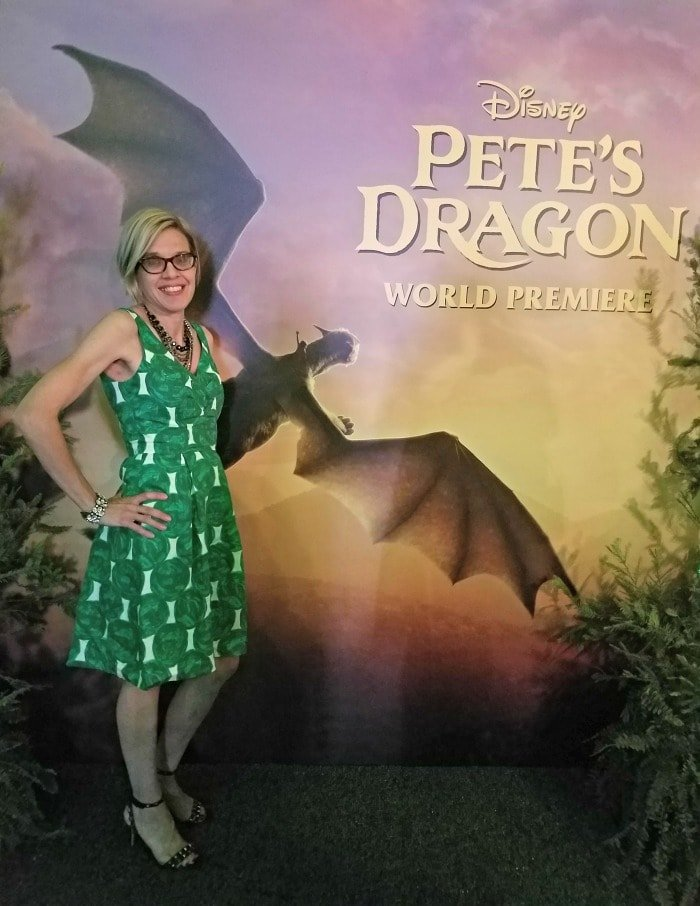 Photo opp at the Pete's Dragon Red Carpet Premiere