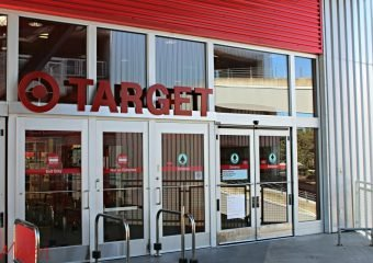 Target first floor entrance at Northgate