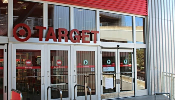 Target first floor entrance at Northgate