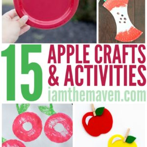 You'll love these easy apple crafts!