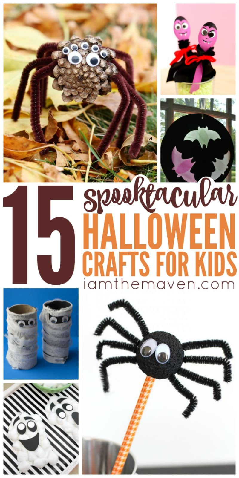 You'll love these Halloween Crafts for Kids