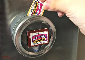An Easy Way to Save Box Tops!