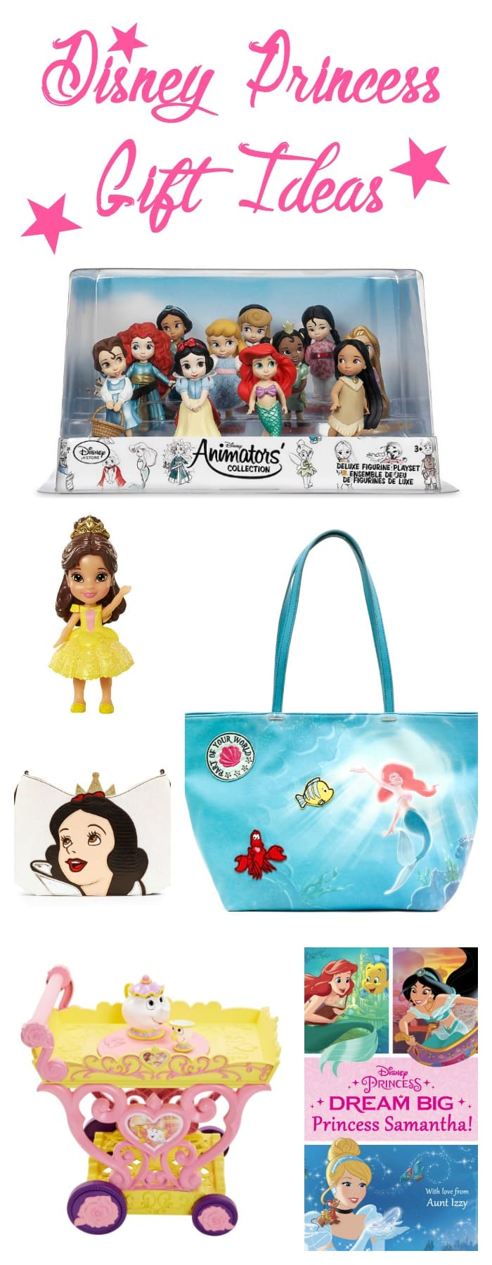 Love these Disney Princess Gift Ideas!