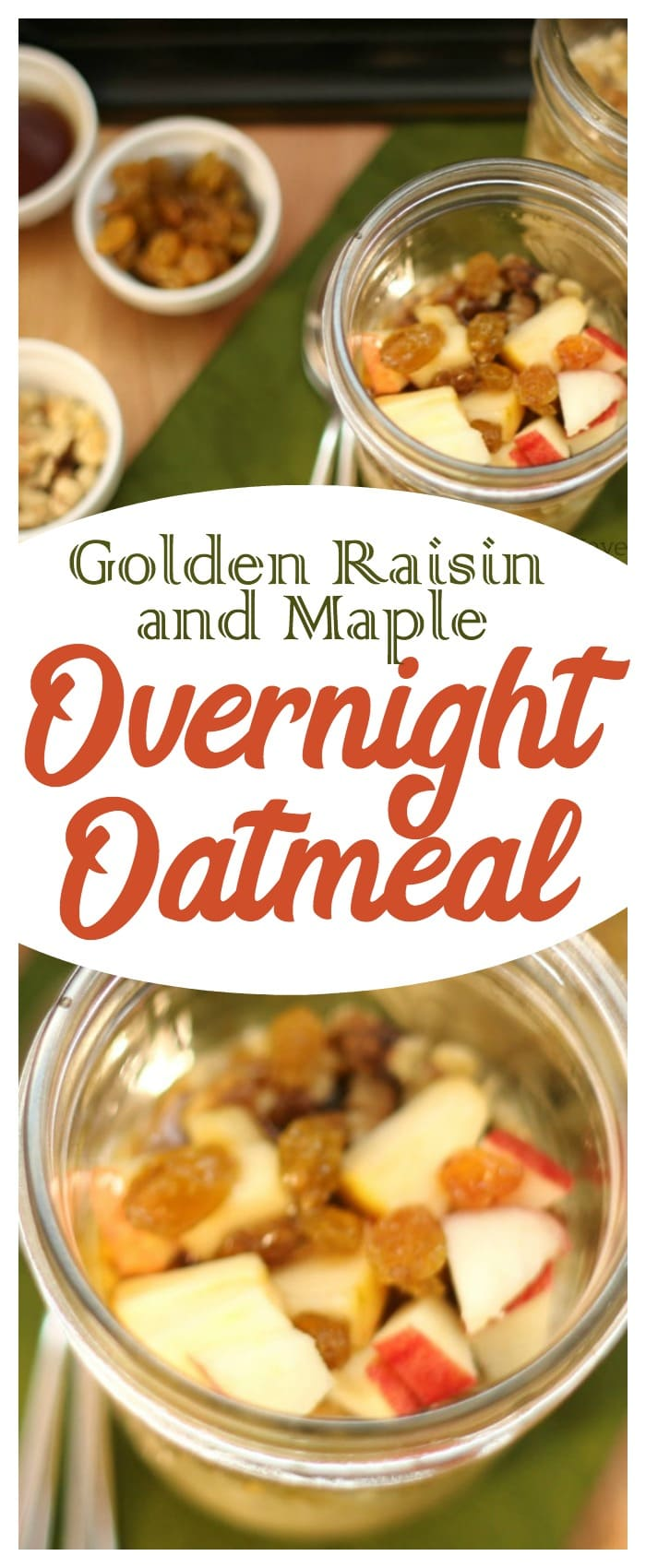 You'll love this easy overnight oatmeal!