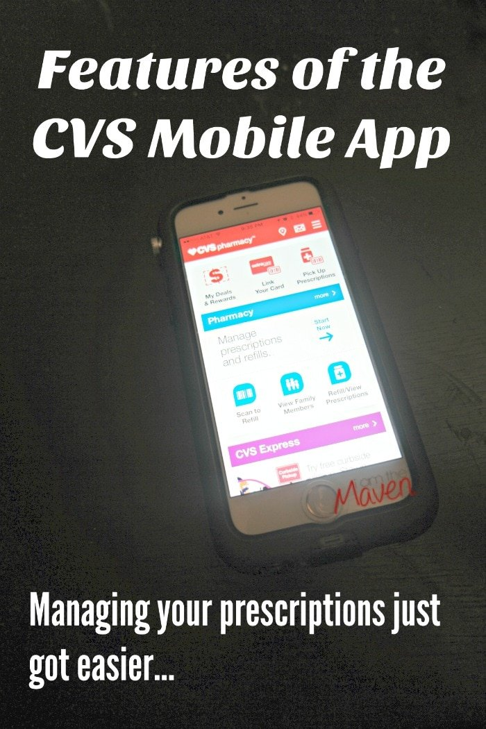 Features of the CVS Mobile App