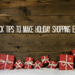 Make Holiday Shopping Easier