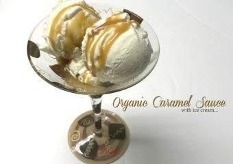Make this easy organic caramel sauce in minutes!