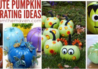Love these fun pumpkin decorating ideas!