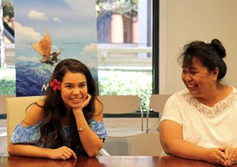 That time I got to Interview Moana (and her mom!)