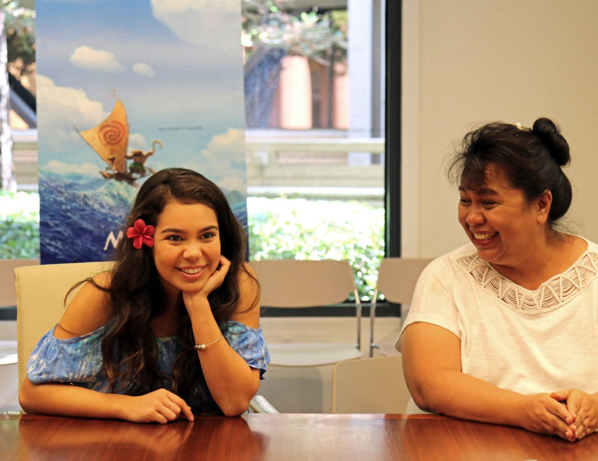 Auili and Puanani Cravalho