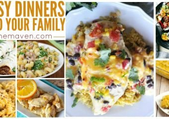 Hungry? Check out this list of easy dinners to feed your family!