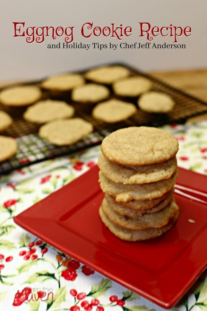 You'll love these delicious Eggnog cookies!
