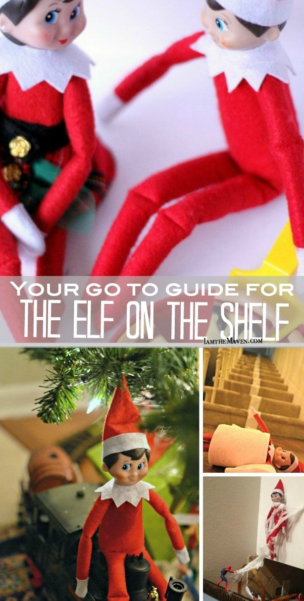 This is IT! The Elf on the Shelf Guide!