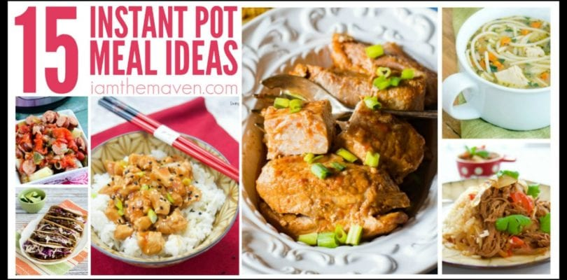 Do you have an Instant Pot? You'll love these Instant Pot Meal Ideas!