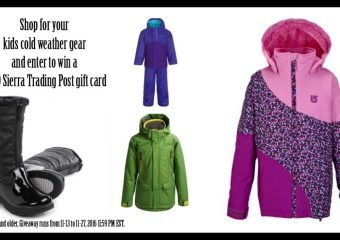 Shop for Kids Cold Weather Gear and enter to win $250 from Sierra Trading Post