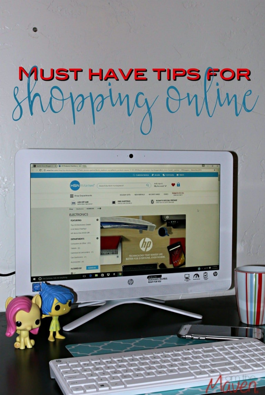 Check out these must have tips for shopping online! Hint: You don't have to wait until Black Friday to save!